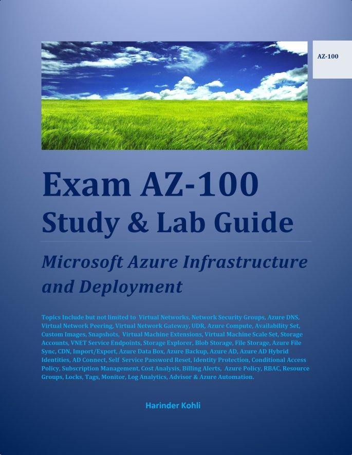 New Azure Certifications Books Mykloud